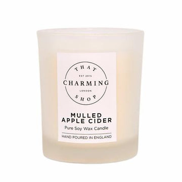 Mulled Apple Cider Travel Candle - That Charming Shop - Mulled Apple Cider Candle - Cinnamon Apple Candle - Christmas Candle