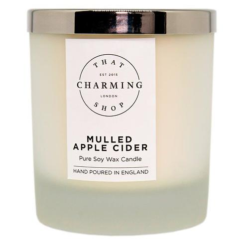 Mulled Apple Cider Deluxe Candle - That Charming Shop - Mulled Apple Cider Candle - Cinnamon Apple Candle - Christmas Candle