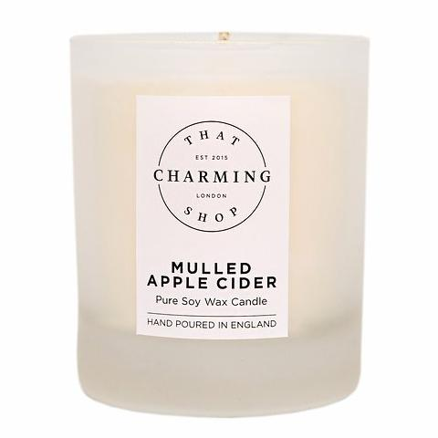 Mulled Apple Cider Home Candle - That Charming Shop - Mulled Apple Cider Candle - Cinnamon Apple Candle - Christmas Candle