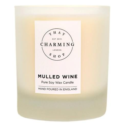 Mulled Wine Candle - Mulled Wine Deluxe Candle - That Charming Shop - Christmas Candle