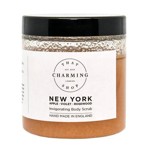 City Lights Body Scrub - City Body Scrub - New York Body Scrub - Apple Violet Rosewood Body Scrub - That Charming Shop