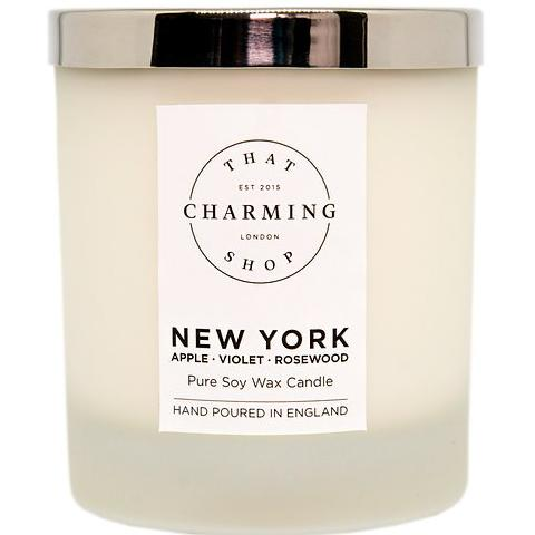 City Lights Candle - City Candle - New York Deluxe Candle - Apple Violet Rosewood Candle - That Charming Shop