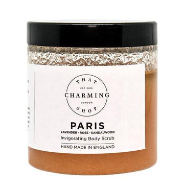 City Lights Body Scrub - City Body Scrub - Paris Body Scrub - Lavender Rose Sandalwood Body Scrub - That Charming Shop