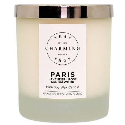 City Lights Candle - City Candle - Paris Deluxe Candle - Lavender Rose Sandalwood Candle - That Charming Shop