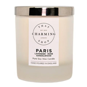 City Lights Candle - City Candle - Paris Home Candle - Lavender Rose Sandalwood Candle - That Charming Shop