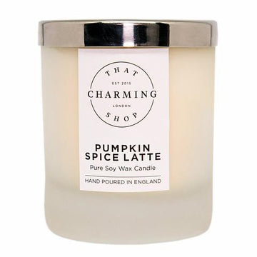 Pumpkin Spice Latte Home Candle - That Charming Shop - Pumpkin Spice Candle - Pumpkin Spice Latte Candle - Pumpkin Candle - Autumn Candle - Winter Candle - Coffee Candle - Coffee Lover - Hygge - Hygge Candle