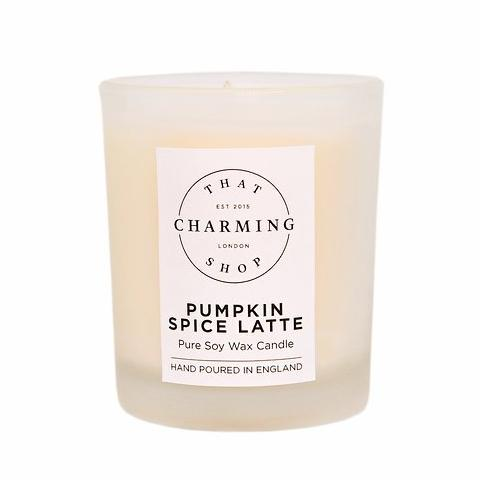 Pumpkin Spice Latte Travel Candle - That Charming Shop - Pumpkin Spice Candle - Pumpkin Spice Latte Candle - Pumpkin Candle - Autumn Candle - Winter Candle - Coffee Candle - Coffee Lover - Hygge - Hygge Candle
