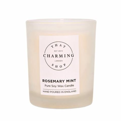 Rosemary Mint Travel Candle - Rosemary Mint Candle - That Charming Shop