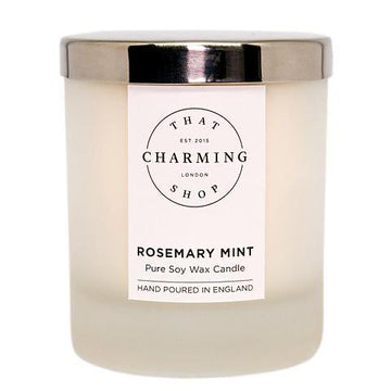 Rosemary Mint Home Candle - Rosemary Mint Candle - That Charming Shop