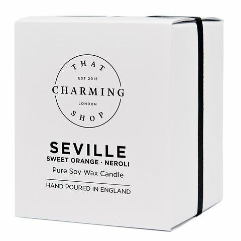 City Lights Candle - City Candle - Seville Home Candle - Sweet Orange Neroli Candle - That Charming Shop