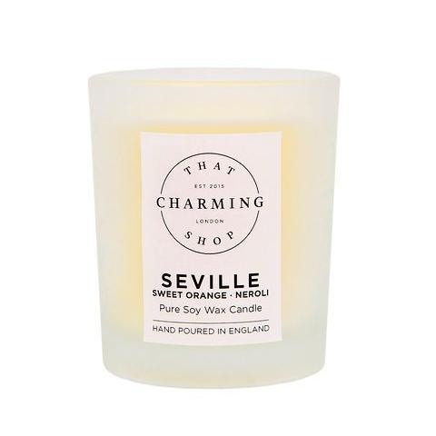City Lights Candle - City Candle - Seville Travel Candle - Sweet Orange Neroli Candle - That Charming Shop