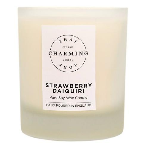Strawberrry Daiquiri Candle - Strawberry Daiquiri Deluxe Candle - That Charming Shop