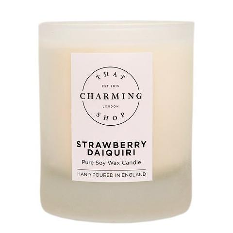 Strawberry Daiquiri Home Candle - That Charming Shop - Strawberry Daiquiri - Gifts For Women - Gifts For Her - Summer Candle - Scented Candle - Strawberry Candle - Gifts For Friends