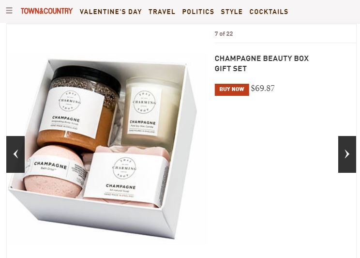 Champagne Beauty Box