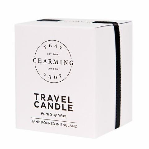 Chocolate Candle - Chocolate Travel Candle - That Charming Shop