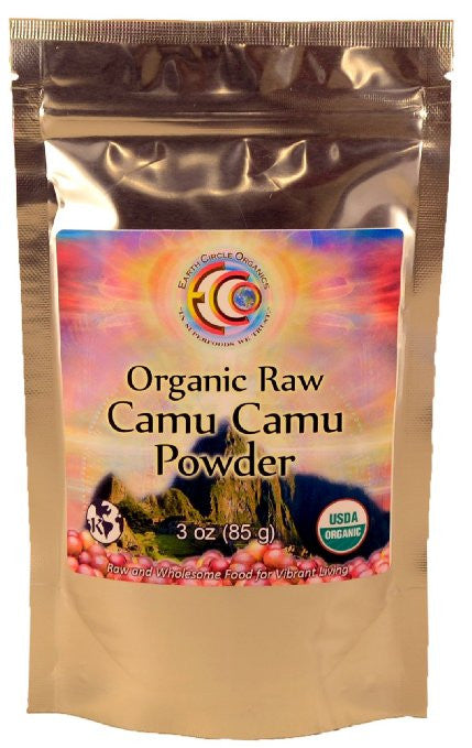Earth Circle Organics Camu Camu Powder - Organic - 3 Oz