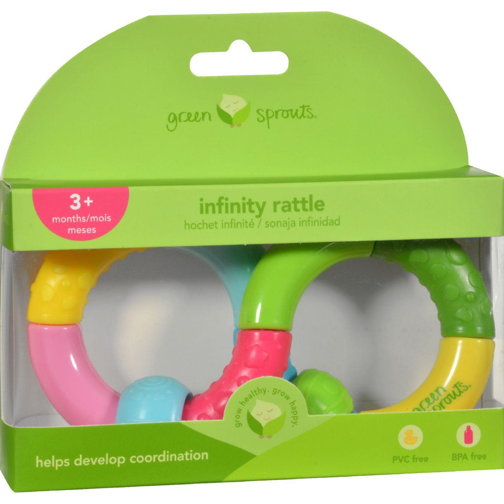 Green Sprouts Teether Rattle - Infinity - 1 Count
