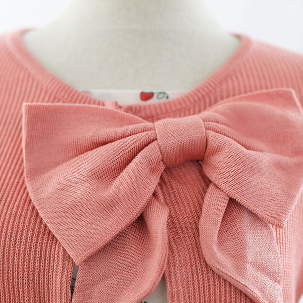 air-conditioned with Bow knit top - AddOneClothing - 11