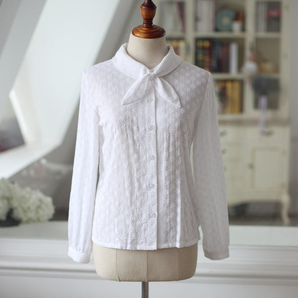Autumn lace shirt - AddOneClothing - 14
