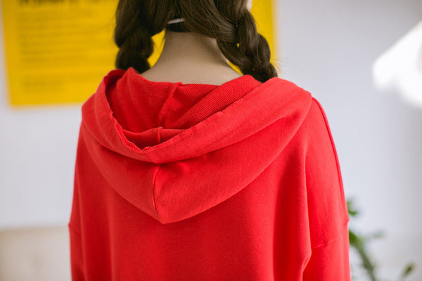 Korean Fashion - Single color hoodie - AddOneClothing - 7