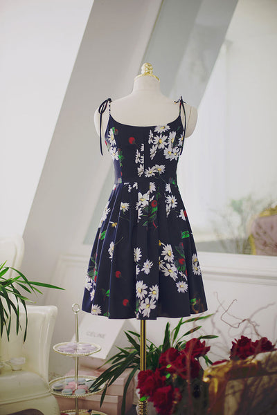 Japanese fashion cherry fruit printed dress - AddOneClothing - 10