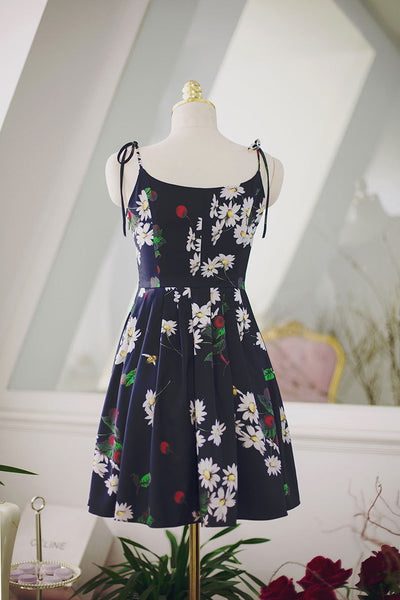 Japanese fashion cherry fruit printed dress - AddOneClothing - 11