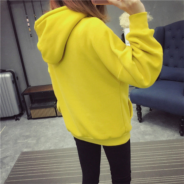 Street fashion collar zipper imprint chest standard hoody - AddOneClothing - 3