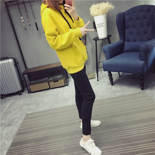 Street fashion collar zipper imprint chest standard hoody - AddOneClothing - 5
