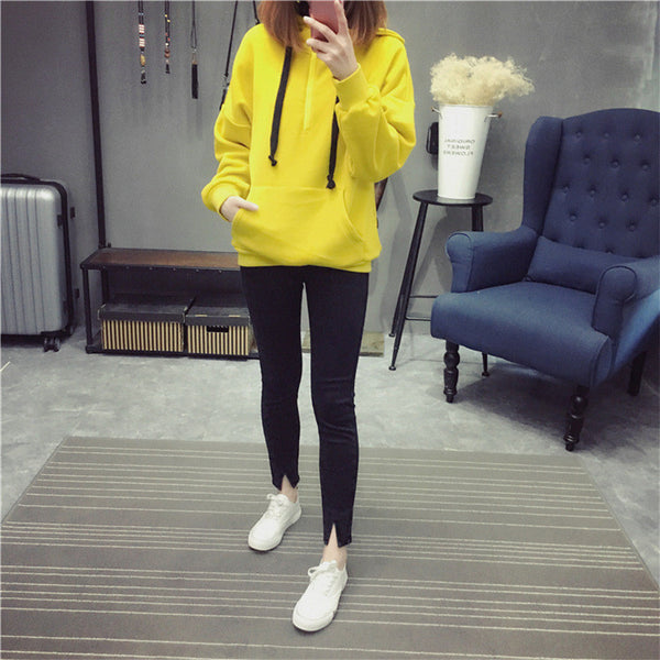 Street fashion collar zipper imprint chest standard hoody - AddOneClothing - 7