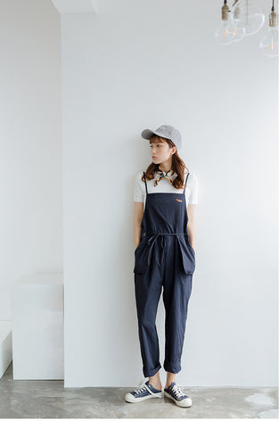 Korean Fashion Casual One Piece Pants - AddOneClothing