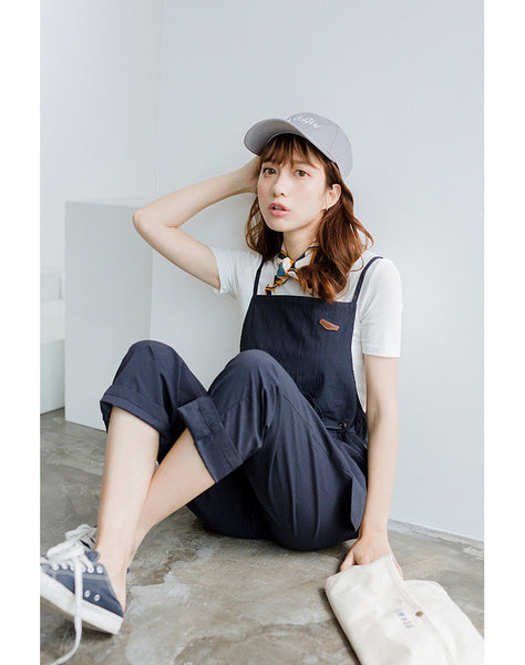Korean Fashion Casual One Piece Pants Addoneclothing