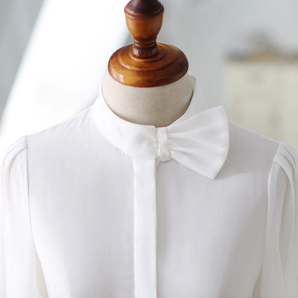 Korean fashion(&Japanese) Bow Tee Shirt - AddOneClothing