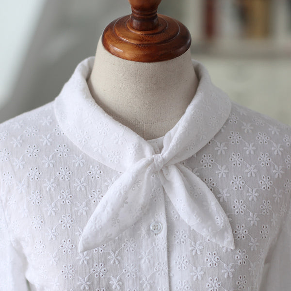 Autumn lace shirt - AddOneClothing - 1