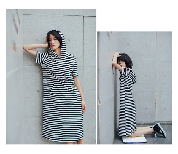 Street Fashion Hudy dress