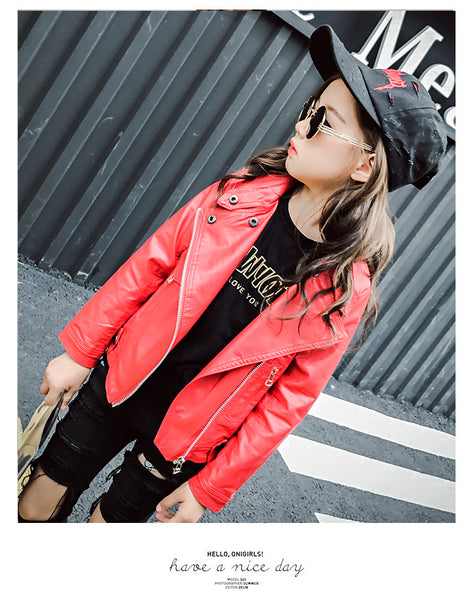 Children's fashionable winter locomotive leather - AddOneClothing