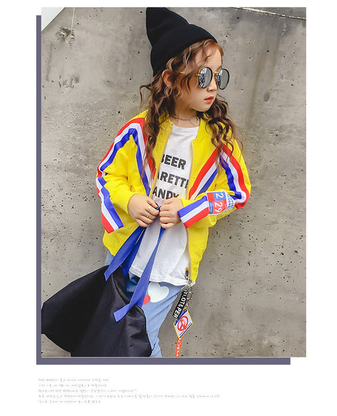 Korean fashion kids jacket - AddOneClothing