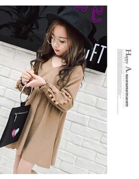 Korean fashion spring dress - AddOneClothing