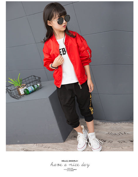 Children's fashion short jacket - AddOneClothing