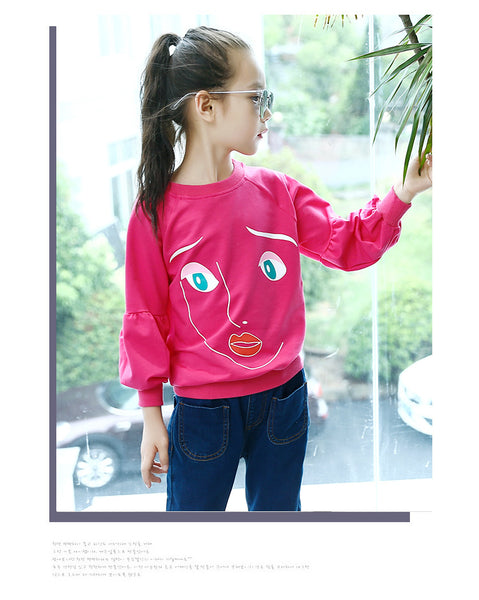 Korean fashion kids underwear shirt autumn - AddOneClothing