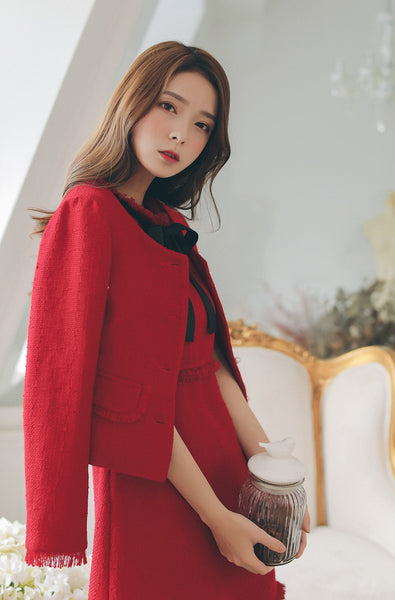 Korean Fashion - Short Jacket - AddOneClothing