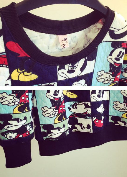 Korean Style - Mickey photos hoody - AddOneClothing - 7