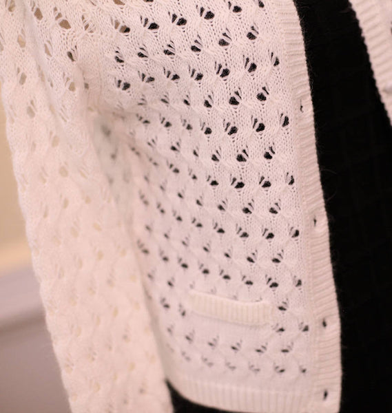 Japanese Style - Angora hollow sweater - AddOneClothing - 6