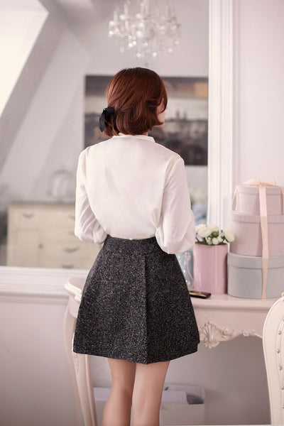 high waist female duffle skirt - AddOneClothing - 4