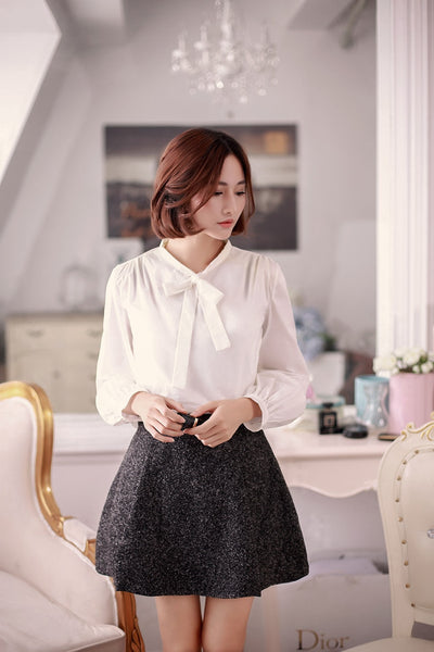 high waist female duffle skirt - AddOneClothing - 2