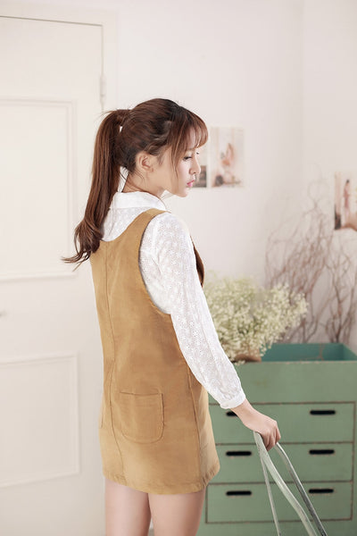 Autumn lace shirt - AddOneClothing - 6