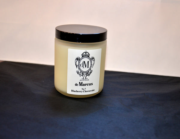 De Marcus Candles- #7 Blueberry Cheesecake