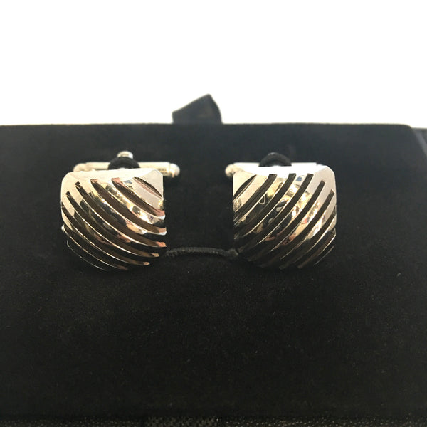 De Marcus - Square Diagonal cufflinks
