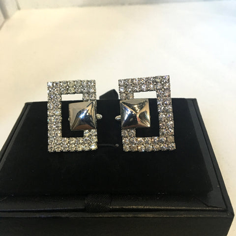 "De Marcus - Big ""D"" Bling cufflinks"