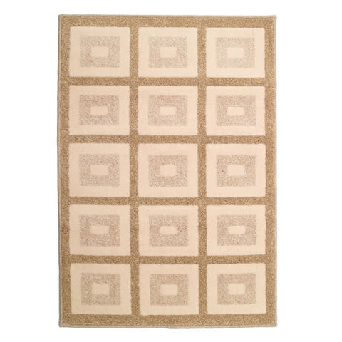 "31"" x 45"" Olefin Contemporary Rug, Treasure Chest Driftwood"