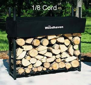 1/8 Cord Woodhaven® Firewood Rack and Cover